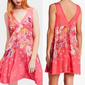 Free People -Intimately floral mini dress size M